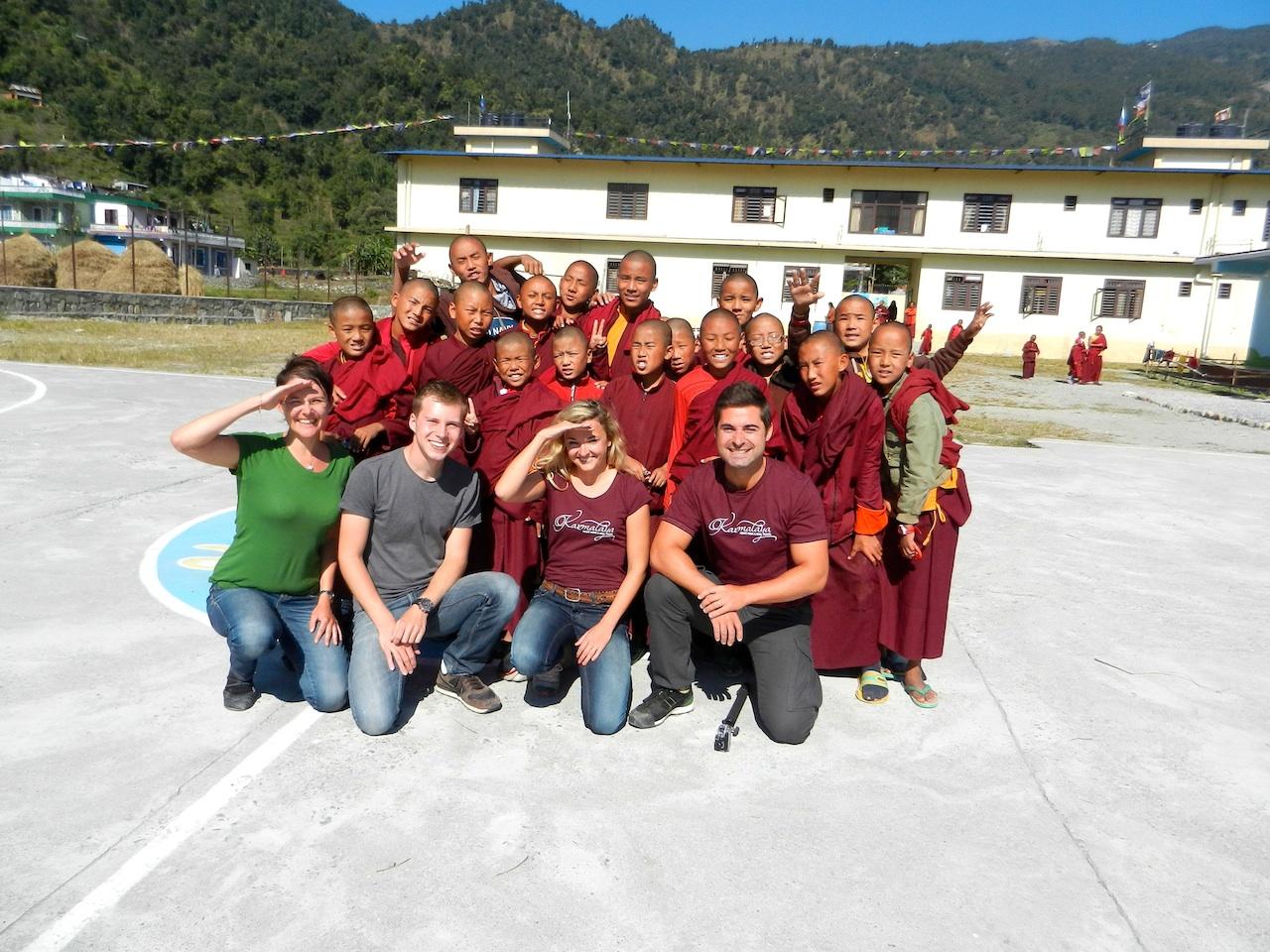 Klosterschule_Pokhara_Karmalaya