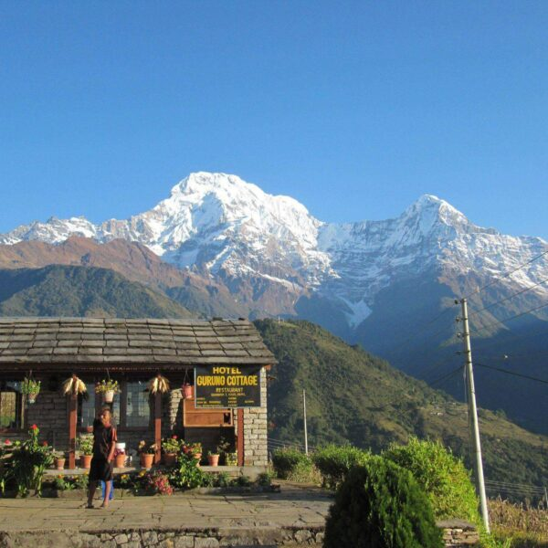 Hotel im Annapurna-Gebirge