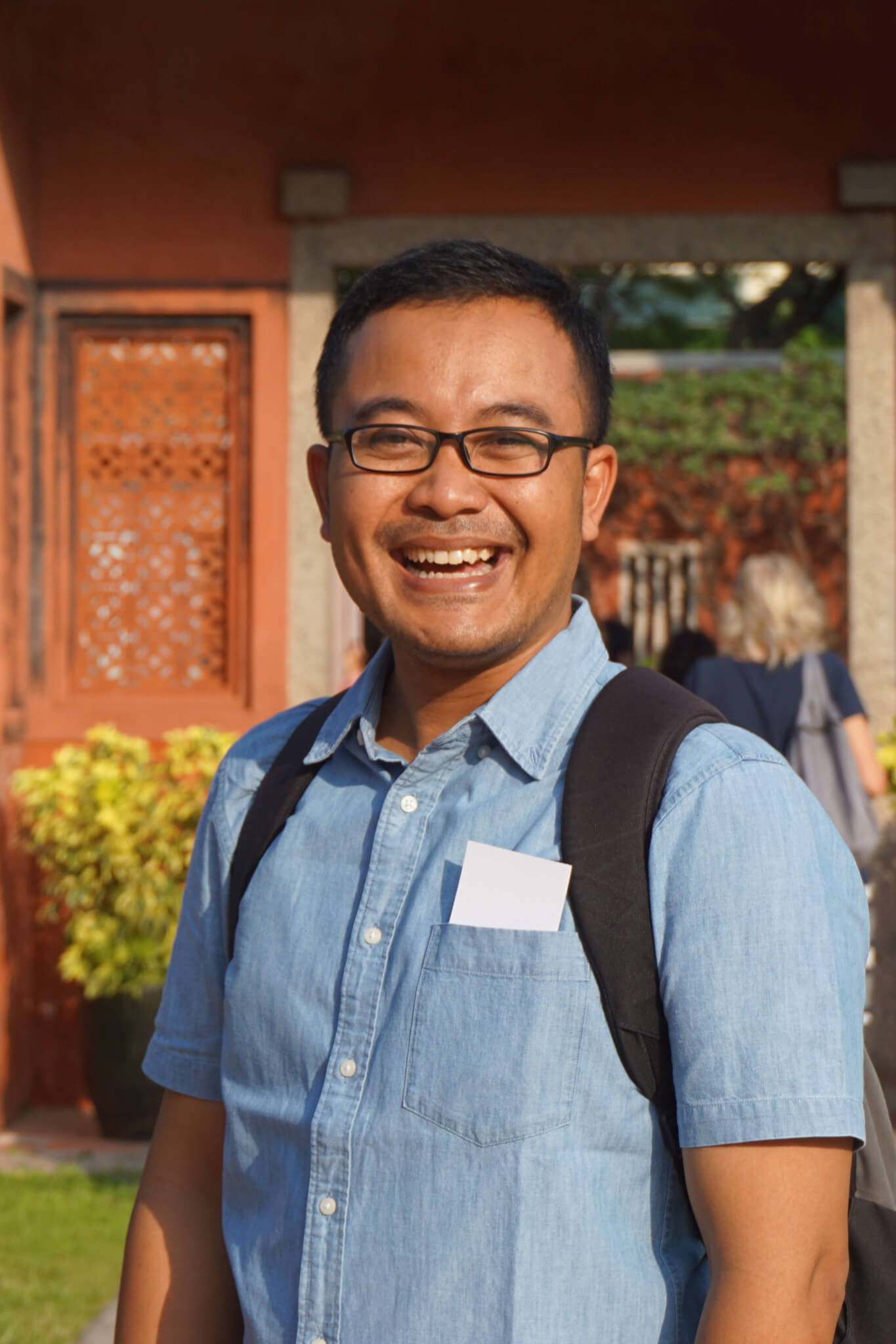 Karmalaya-Partner in Indonesien: Ketut Purwantoro