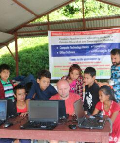 Computer-Lab in Gaujini