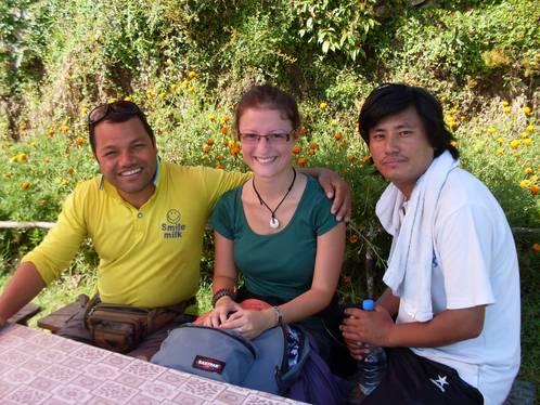 Volontärin im Karmalaya Tourismus-Projekt
