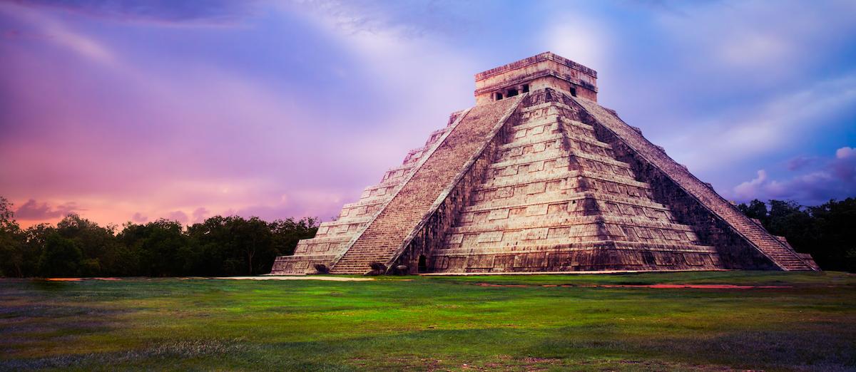 Pyramide in Mexico. Leadership-Programm Karmalaya.